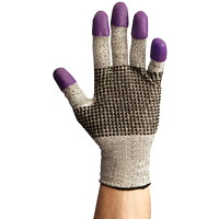 Gants en nitrile pourpres résistants aux coupures de pointure 9 (G) G60 Jackson Safety
