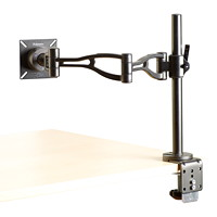 Fellowes Depth-Adjustable Single Monitor Arm