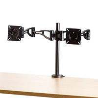 Fellowes Professional Series Depth-Adjustable Dual Monitor Arm