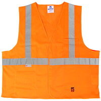 Open Road Mesh Safety Vest, Orange, Size S/M