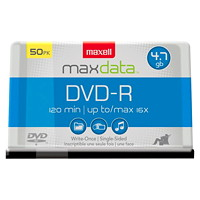 Maxell DVD-R 50-pack Spindle