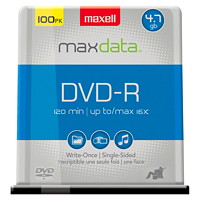 Maxell DVD-R 100-pack Spindle