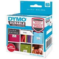 DYMO LabelWriter Durable Coated Polypropylene Multipurpose Labels