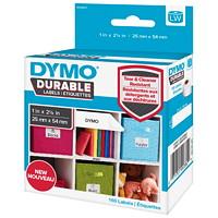 Étiquettes polyvalentes durables revêtues de polypropylène LabelWriter DYMO