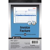 Adams Invoice Book