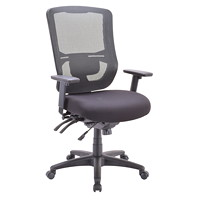 Eurotech Apollo II Multifunction High-Back Chair With Seat Slide