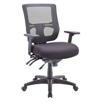 Eurotech Apollo II Multifunction Mid-Back Chair With Seat Slide