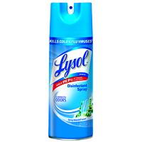 Désinfectant en vaporisateur Lysol, parfum de chute d'eau printanière, 350g