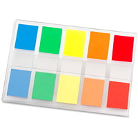 Emballage de languettes standard de 1/2 po de couleurs variées « On-The-Go » Post-it