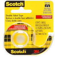 Scotch Permanent Double-Sided Tape with Handheld Dispenser