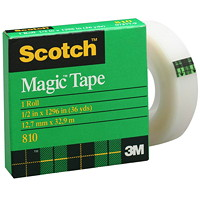 Recharge de ruban Magic Scotch, 12 mm (1/2 po)