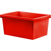 Storex 21 L Red Classroom Storage Bins