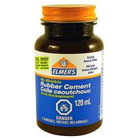 Elmer's No-Wrinkle Rubber Cement, 118 mL