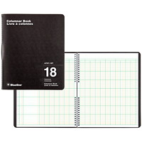 Blueline 767 Series Double-Format Columnar Book