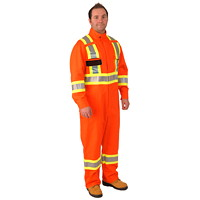 Firewall CSA Approved High-Visibility Orange XLT Safety Coveralls