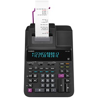 Casio 12-Digit VFT Fluorescent DR-120R Printing Calculator