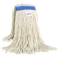 Globe Commercial Products Cotton Wet Mop With Cut End, 16 oz