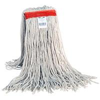 Tête de vadrouille humide en coton à extrémités coupées Globe Commercial Products, 20 oz