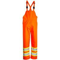 Open Road High-Visibility Orange 150D Large Bib Pants