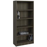 HDL 5-Shelf Grey Dusk Bookcase