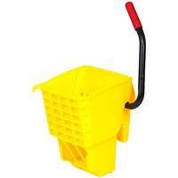 Rubbermaid Commercial WaveBrake Side Press Wringer, Yellow