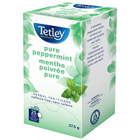 Tetley Tea Pure Peppermint Tea, 25/Bx