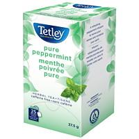 Tisane menthe poivrée pure Tetley, boîte de 25
