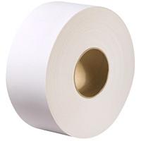 White Swan 1-Ply Universal Jumbo Bathroom Tissue Rolls, White, 2000', 8/CS