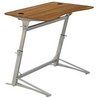 Safco Verve Walnut Standing Desk