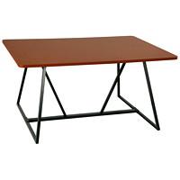 Table pour travail collaboratif Safco Oasis, cerisier, 60poL x 48poP x 291/4poH
