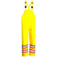 Open Road High-Visibility Safety Green 150D Medium Bib Pants