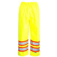 Open Road High-Visibility 150D Green Small Safety Waist Pants