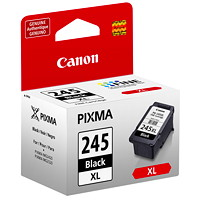 Canon PG-245 XL High Yield Black Inkjet Cartridges (8278B001)