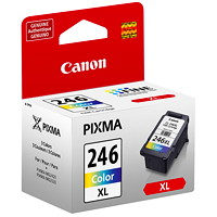 Canon CL-246 XL High Yield Colour Inkjet Cartridges (8280B001)