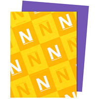 Neenah Astrobrights Gravity Grape Paper, Letter-Size, FSC And Green Seal Certified, 24 lb., Ream