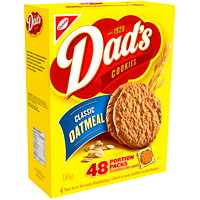 Christie Dad's Classic Oatmeal Cookies