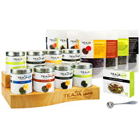 TEAJA Organic Loose Leaf Tea Experience Kit