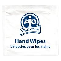 Lingettes nettoyantes pour les mains