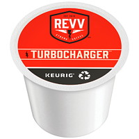 Revv Single-Serve Coffee K-Cup Pods, Turbocharger, 24/BX