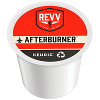 Revv Single-Serve Coffee K-Cup Pods, Afterburner, 24/BX