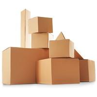 Plain Kraft Shipping Box