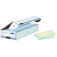 Boîte de rangement format chèques Stor/File Bankers Box