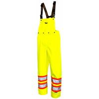 Viking Professional Journeyman Bright Green Small 300D Bib Pants