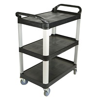 Globe Commercial Products Small  Utility Cart