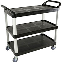 Globe Commercial Products Large Utility Cart