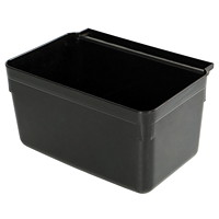 Globe Commercial Products Utility Cart Utensil Bin