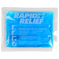 Rapid Relief Cold/Hot Gel Compress With Contour-Gel