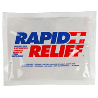 Rapid Relief Deluxe Cold/Hot Gel Compress With Contour-Gel