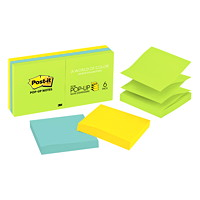 Post-it Original Pop-Up Notes in Jaipur Collection Colours, Unlined, 3