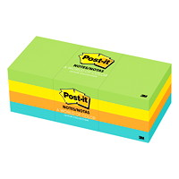 Post-it Notes in Jaipur Colour Collection, Unlined, 1 1/2